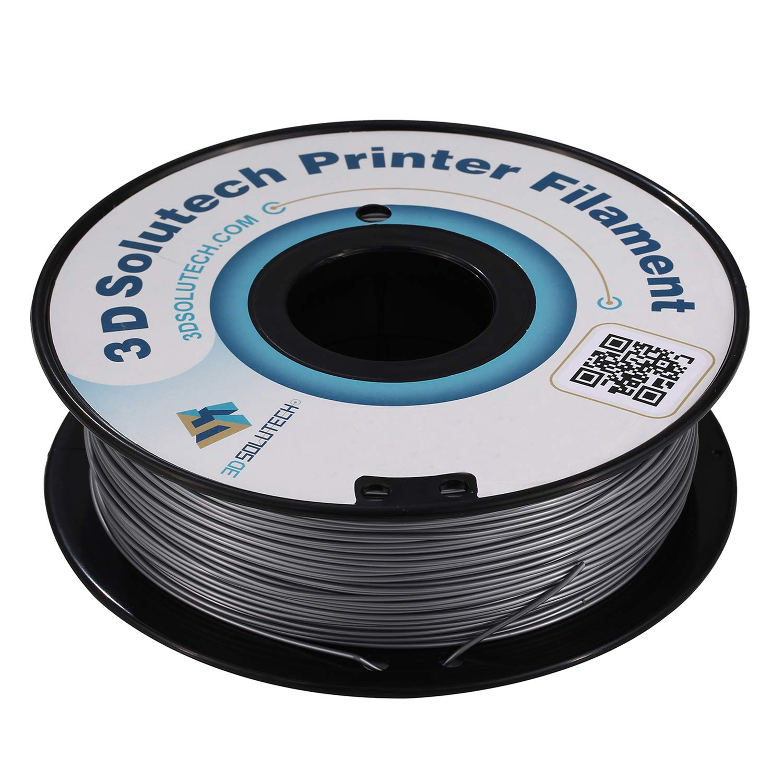 3d solutech plata Metal 1,75 mm PLA 3d impresora filamento 2,2 lbs ...