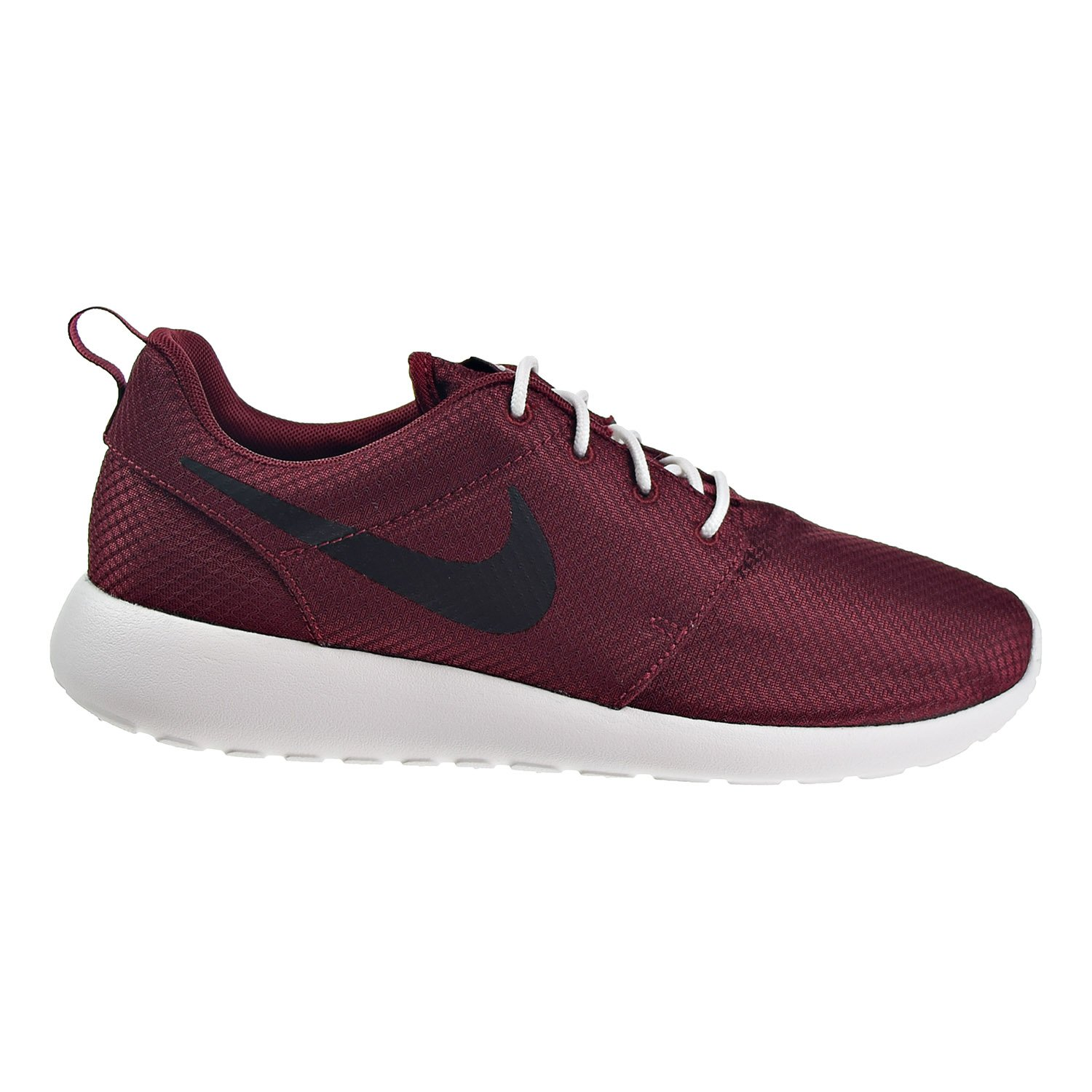 online retailer c53bb 92e9d Nike Roshe One Mens Shoes Team Red Black Summit White 511881-607 (9 B(M) US)   Buy Online at Low Prices in India - Amazon.in