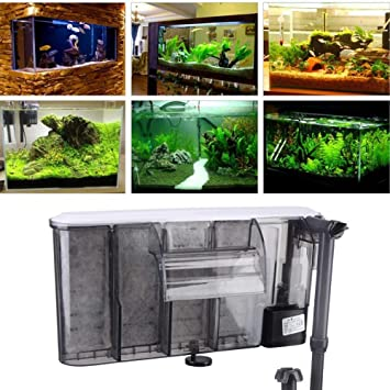 Cuelgue del filtro del acuario Filtro del tanque de peces Filtro de ...