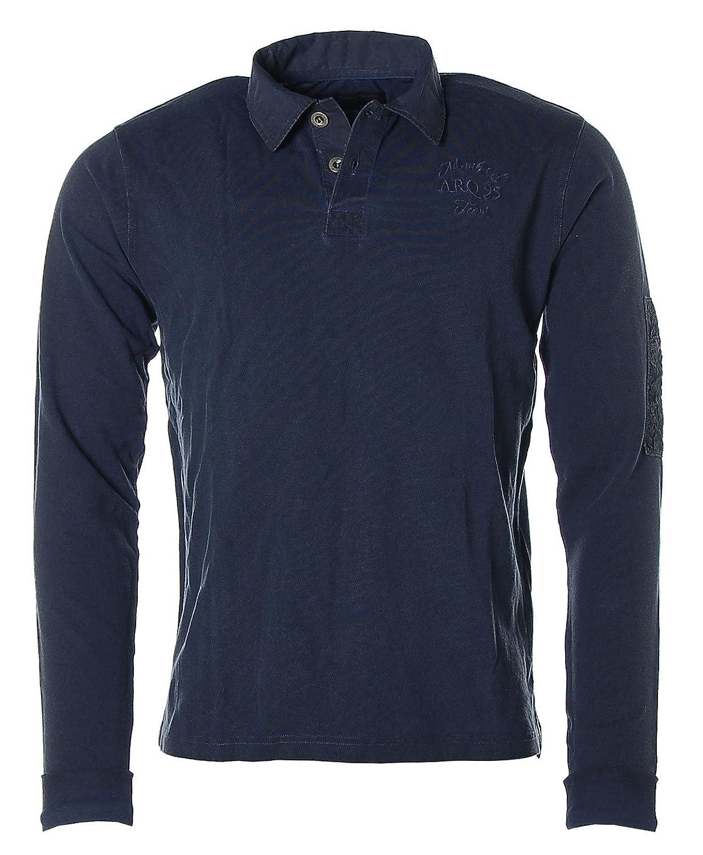 ARQUEONAUTAS Herren Poloshirt Polo Shirt Longsleeve -ARQ TEAM-
