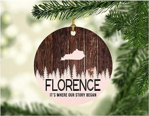 Christmas In Kentucky 2020 Amazon.com: Christmas Tree Ornament 2020 Florence Kentucky It's