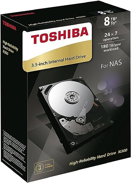 Toshiba N300 Hohe Zuverlässigkeit 8tb Interne Computer Zubehör