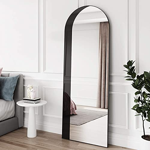 PexFix Full Length Mirror 65 x22 Arched-Top Mirror Archway Mirror Large Floor Mirror