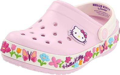 Crocs Girls Keeley Hello Kitty Camo Sandal Shoes