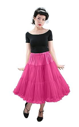 "24ac2a2807 Malco Modes Samantha Luxury Tea-Length 26"" Chiffon Petticoat for  Vintage Clothing, Wedding"