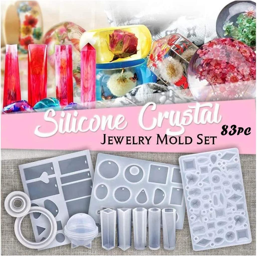 Art DIY Gift Ornament Casting Mould Crystal Glue Epoxy Resin Silicone Mold