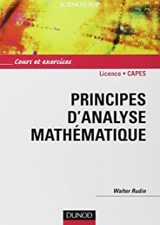 Amazon principles of mathematical analysis walter rudin livres principes danalyse mathmatique cours et exercices fandeluxe Gallery