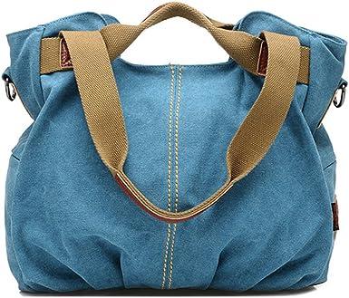 Cute Bunnies Womens Handbags Canvas Shoulder Bags Retro Casual Tote Purses