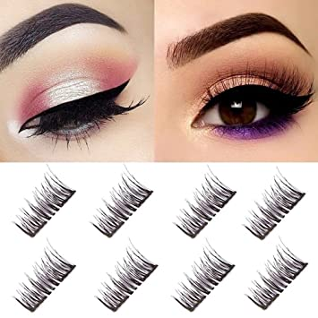 7f164d7f9b0 Double Magnetic False Eyelashes - No Glue Mess-Free Reusable - Best Fake  Lashes Extensions