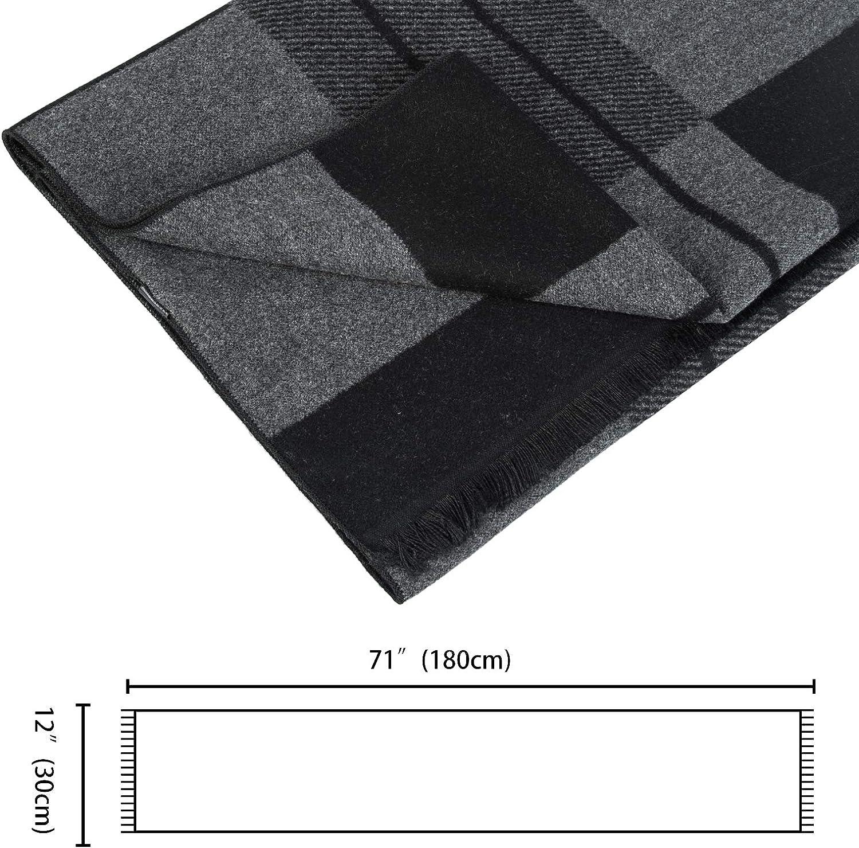 Sciarpe Invernali Quadrato Scialle Uomo Stile Nordico Justay Sciarpa Uomo