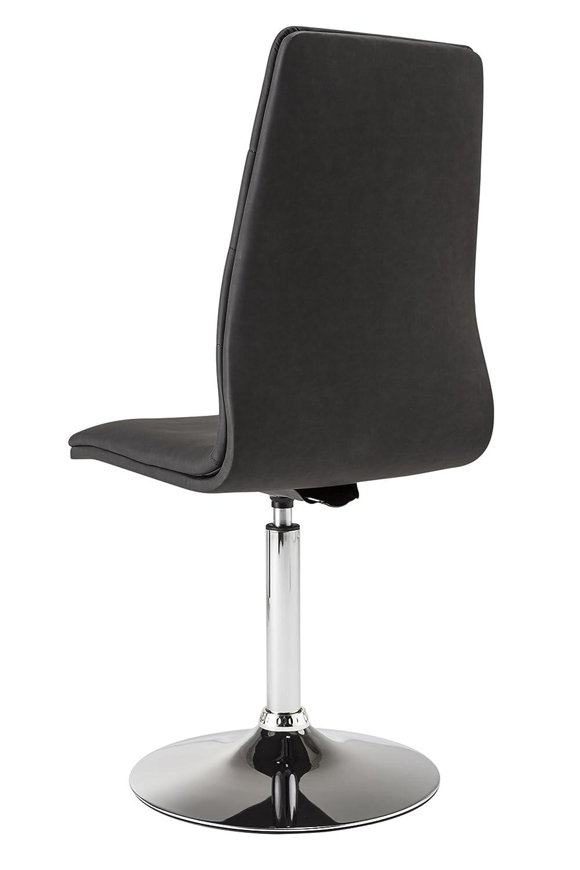 Bezaubernd Drehstuhl Esszimmer Referenz Von Matelpro-chaise, Farbe Schwarz (2 Stück) Hisseo: Concept.de:
