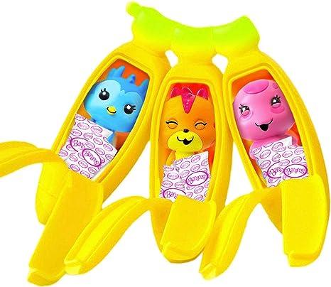 Bananes Série 3 Mini Figure Triple Pack Bunch.