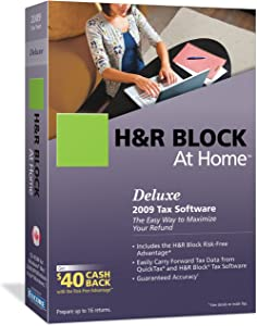 ENCORE 11060 H&R BLOCK AT HOME DELUXE 2009 SB