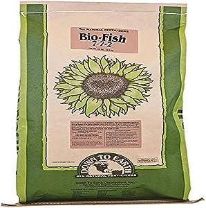 Down To Earth Bio-Fish 7-7-2 Fertilizer, 50 lb.