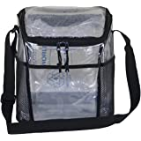 Clear Lunch Bag by Amaro, Clear Designer Lunch Bag, 6 Pack Lunch Bag, Lunch Bag For Work