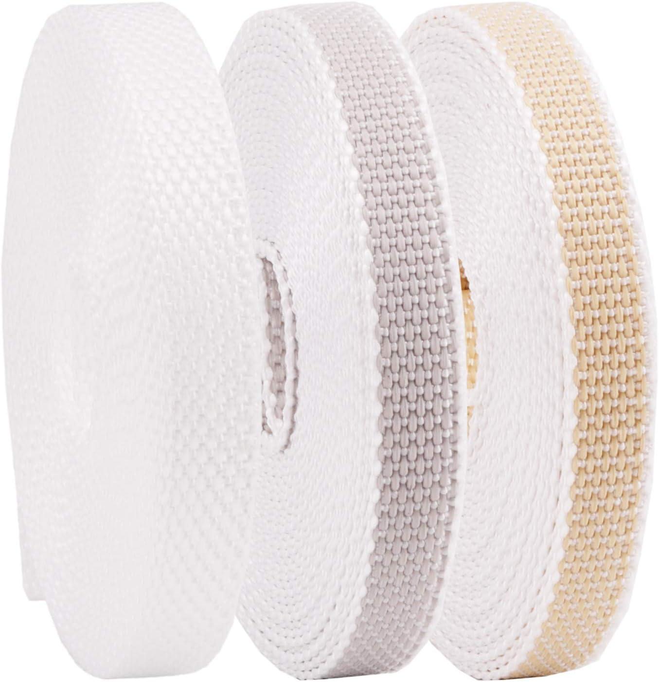 stabiles Rolladenband Rollladengurt 14//15 mm in Wei/ß 6m MADE IN GERMANY Mini Rolladengurt strapazier- und rei/ßfest Gurtband f/ür Rolladen und Jalousie