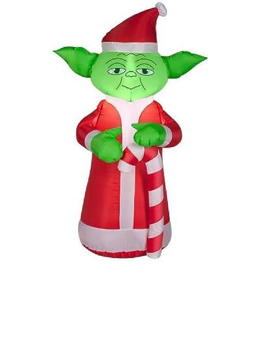 Amazon.com: 3,5 hinchable Yoda Star Wars con bastón de ...