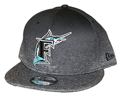 first rate a5ace 7dd00 Image Unavailable. Image not available for. Color  New Era Florida Marlins  9FIFTY MLB Cooperstown Shadow Fade Snapback Hat