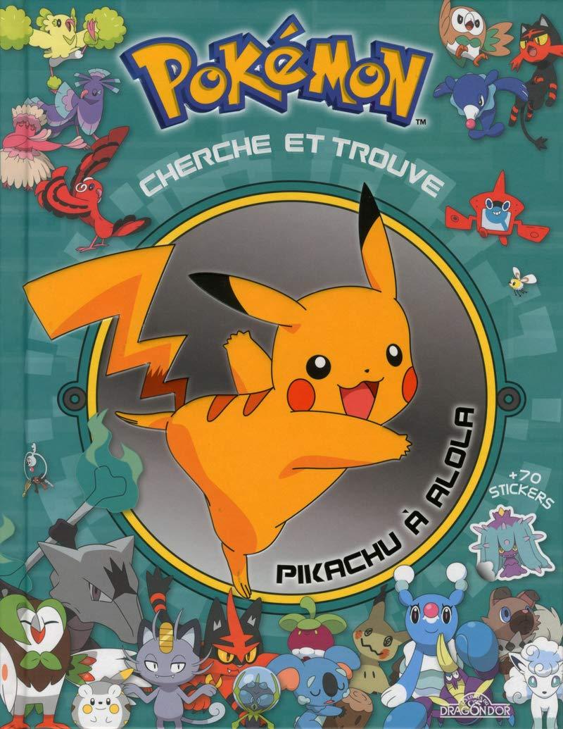 Amazon Fr Cherche Et Trouve Pikachu A Alola The