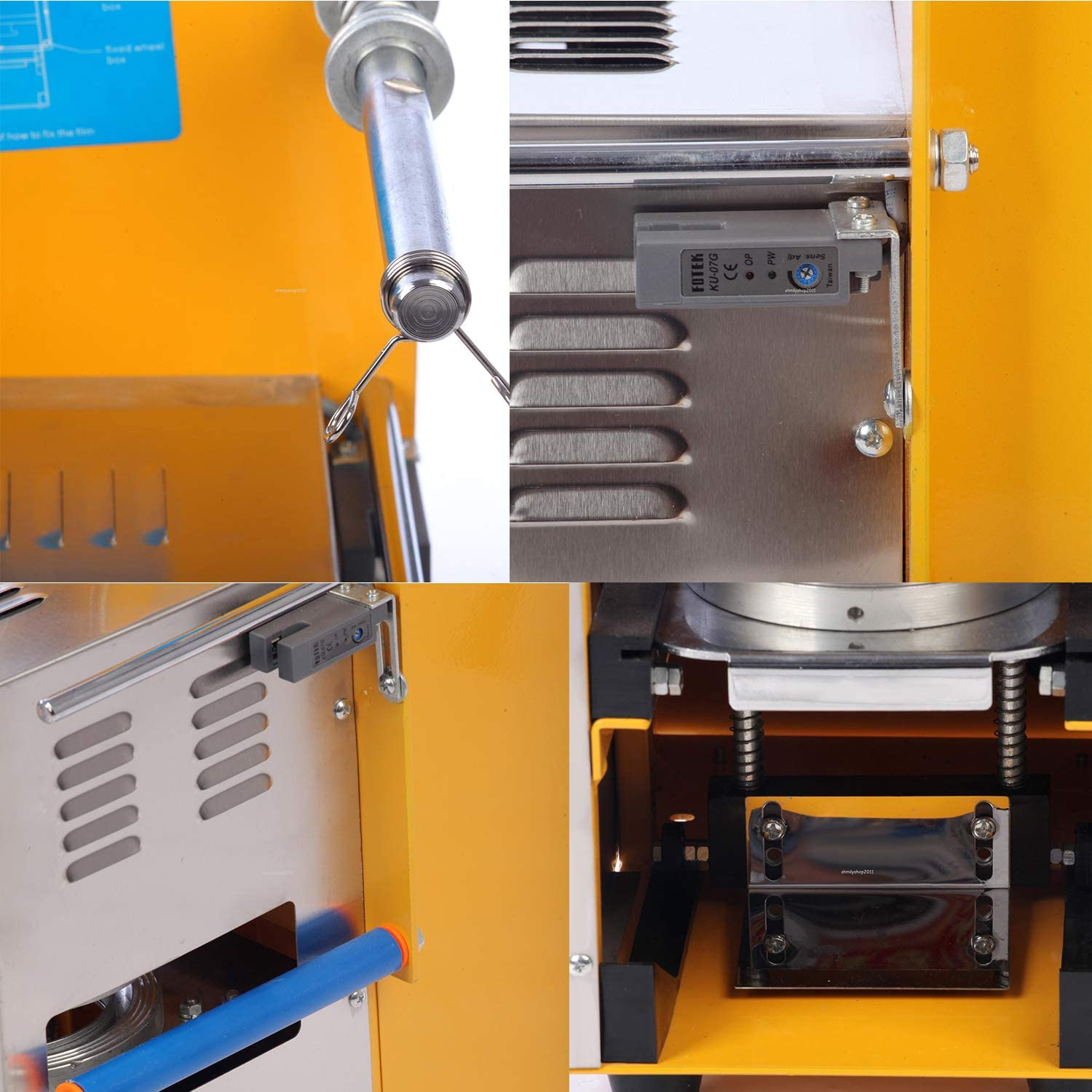 Cup Sealing Machine For Bubble Tea Automatic Plastic Cup Sealer 400-600Cups/hr Electric 400w (Automatic) Fully Automatic