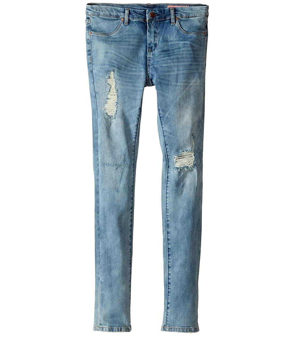 Big Kids Blank NYC Kids Womens Denim Distressed Skinny Jeans in Good Vibes