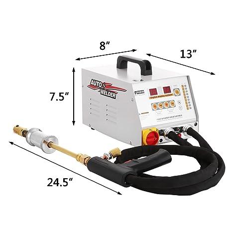 Moracle Soldador 12KW Dent Puller Repair Kit For Cars Extractor de vehículos Dientes Spotter Automático Ondulado Soldadura (2700A): Amazon.es: Bricolaje y ...