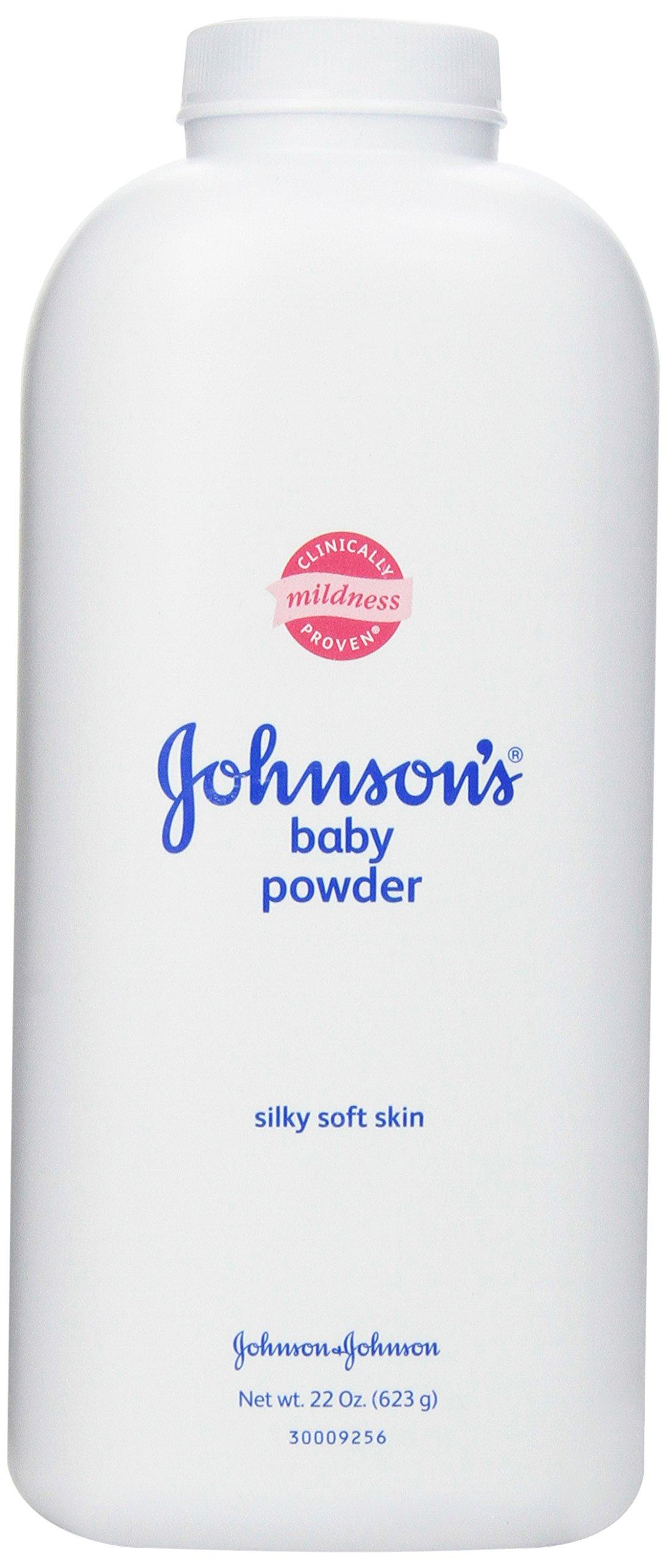 Johnson's Baby Powder, Silky Soft Skin, 22 Ounce