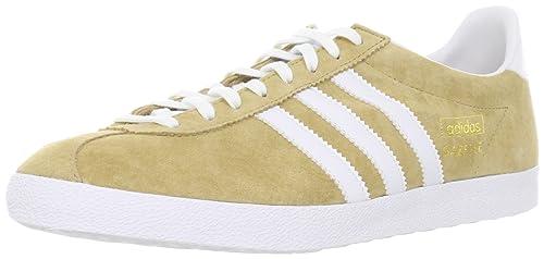 wholesale dealer da894 8f573 Adidas Gazelle og, Sneaker Uomo, Unisex Adulto, Beige Blanc, 45