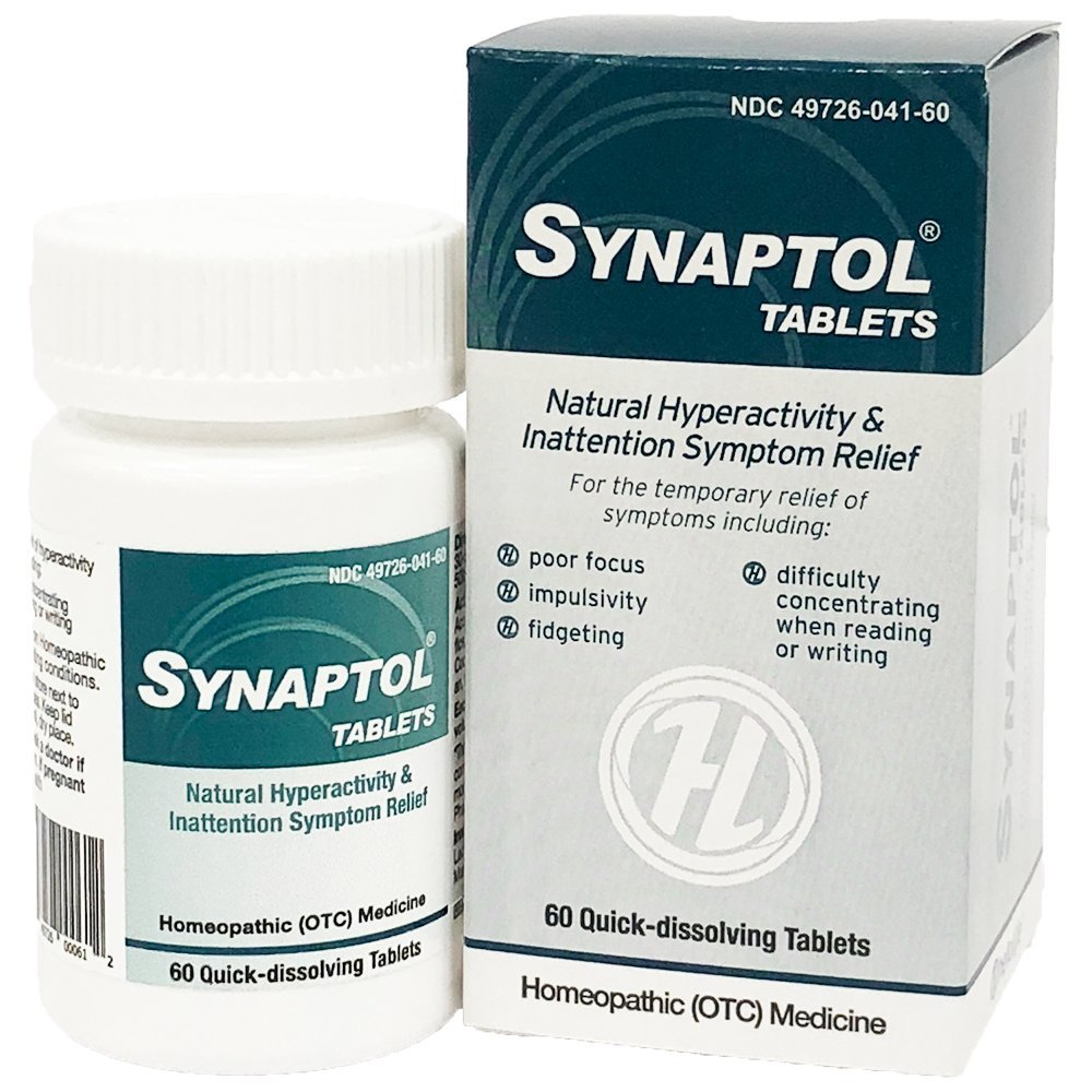 HelloLife Synaptol Tablets - Natural Hyperactivity & Inattention Symptom Relief
