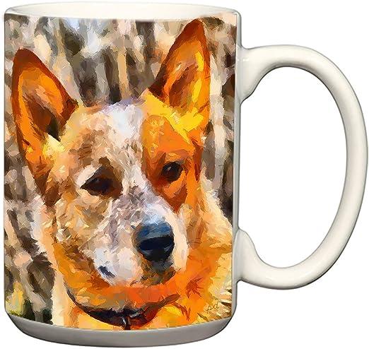 Australian Cattle Dog Ceramic Coffee Mug Tea Cup 15 oz