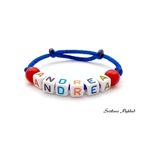 élégant et gracieux Découvrez magasiner pour les plus récents Bracelet ANDREA personnalisé avec prénom (réversible) homme ...
