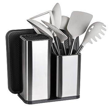 Elfrhino porta utensili e coltelli da cucina utensili da cucina ...