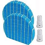 空気清浄機用交換部品セット 加湿フィルター FZ-Y80MF & Ag+イオンカートリッジ FZ-AG01K1 (互換品/2セット入り)