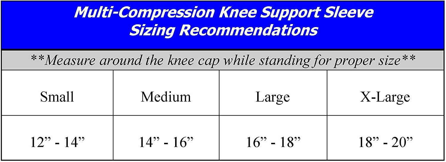 619b8c0a5d Amazon.com: SafeTGard Multi-Compression Support Elastic Knee Sleeve/Brace:  Sports & Outdoors