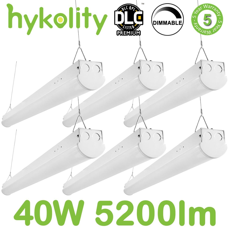 LEDストリップライト 6 Pack DM-SP4-40W5K-6 B073FFR461 6 Pack|4ft 4ft 6 Pack
