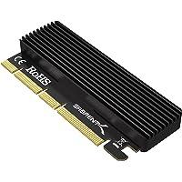 Sabrent Karta NVMe M.2 SSD na PCIe X16/X8/X4 z aluminiowym radiatorem (EC-PCIE)