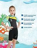 Girls Wetsuit Thermal Swimsuit Full Length Swim