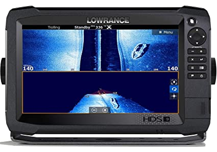 HDS-9 Carbon - 9-inch Fish Finder with Skimmer Transducer, StructureScan 3D  Bundle and C-MAP US Enahanced Basemap Installed