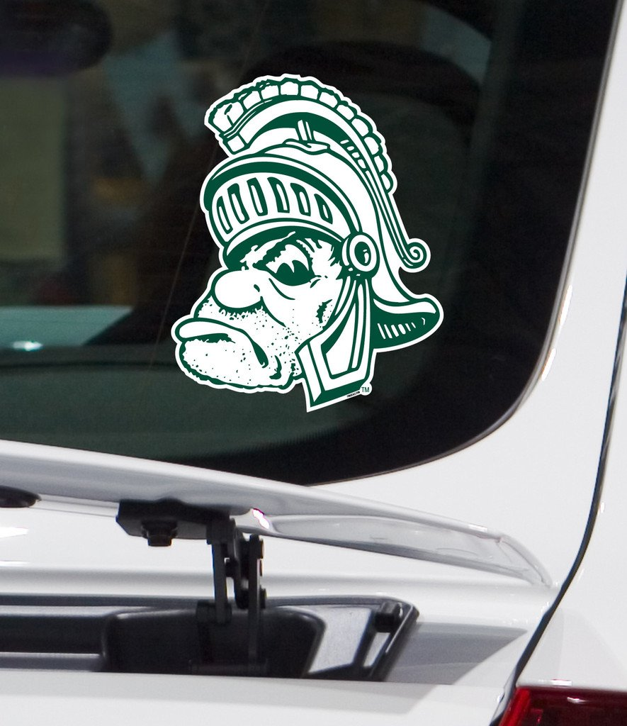 Amazoncom Michigan State University Gruff Sparty Car Vinyl Decal - Vinyl decals car