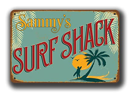 Surf Shack Signs Vintage Sign Surfing