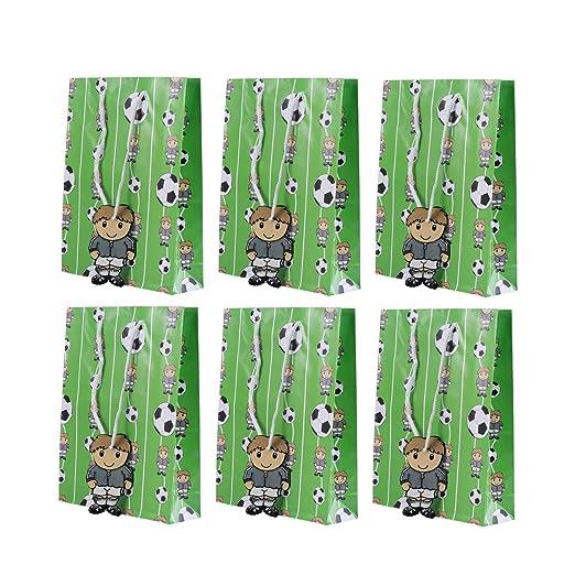 Toyvian 6pcs Bolsas de Papel de Regalo con la decoración de ...