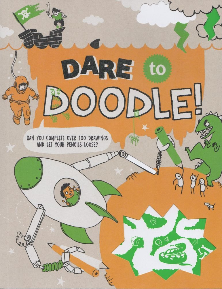 Dare Doodle Complete Drawings Pencils product image