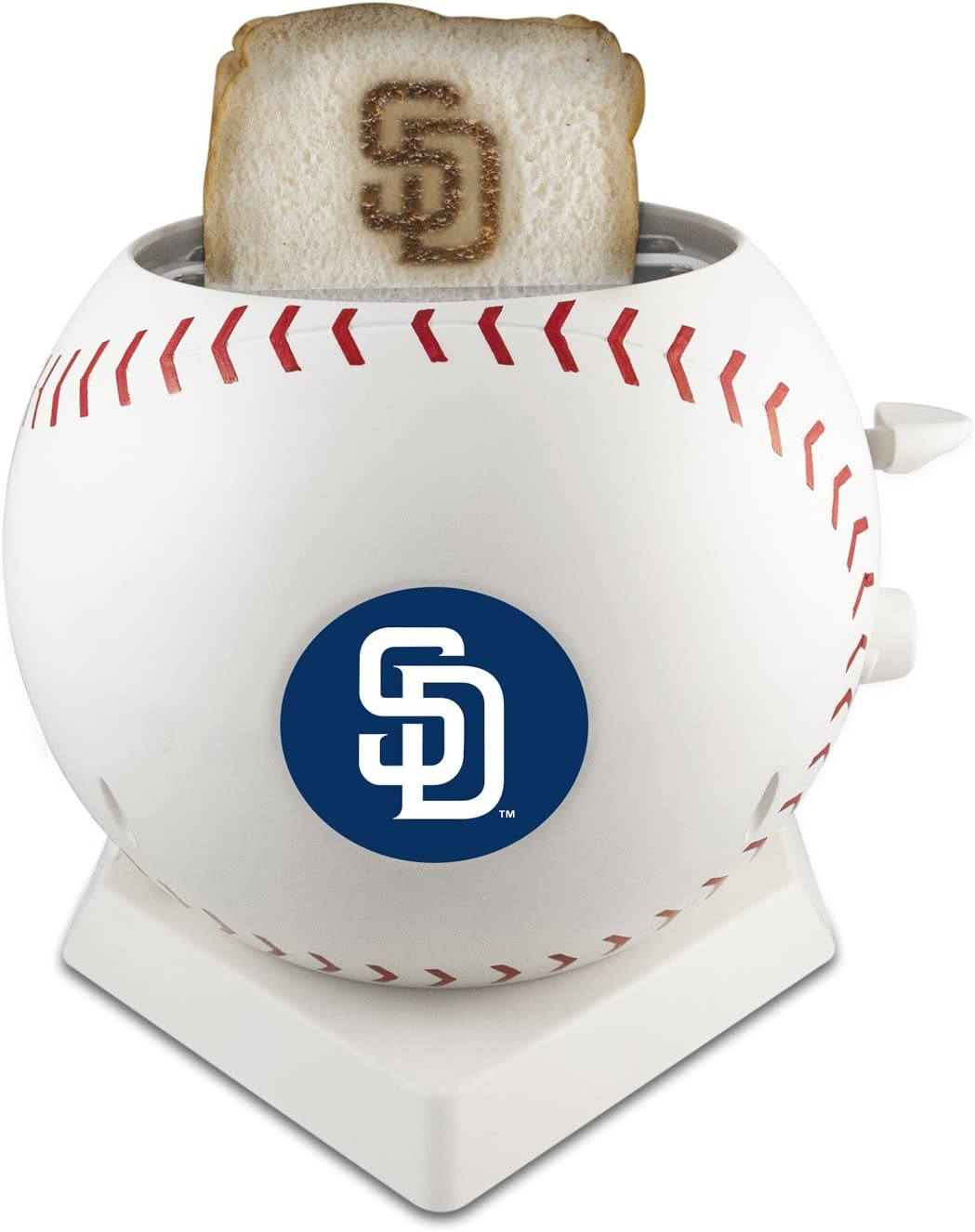 MLB San Diego Padres Pangea Brands ProToast MVP Toaster, White
