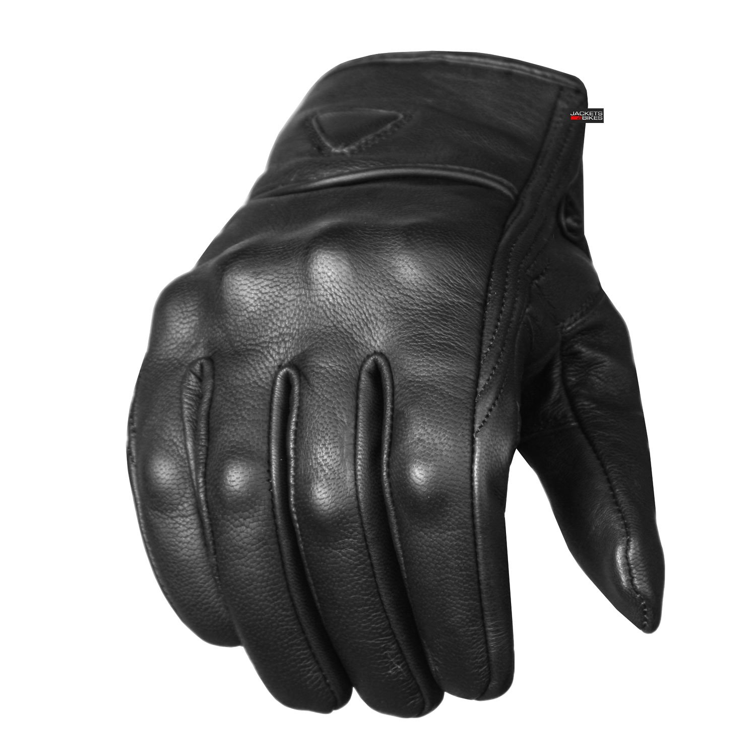 Men's Premium Leather Street Motorcycle Protective Cruiser Biker Gel Gloves