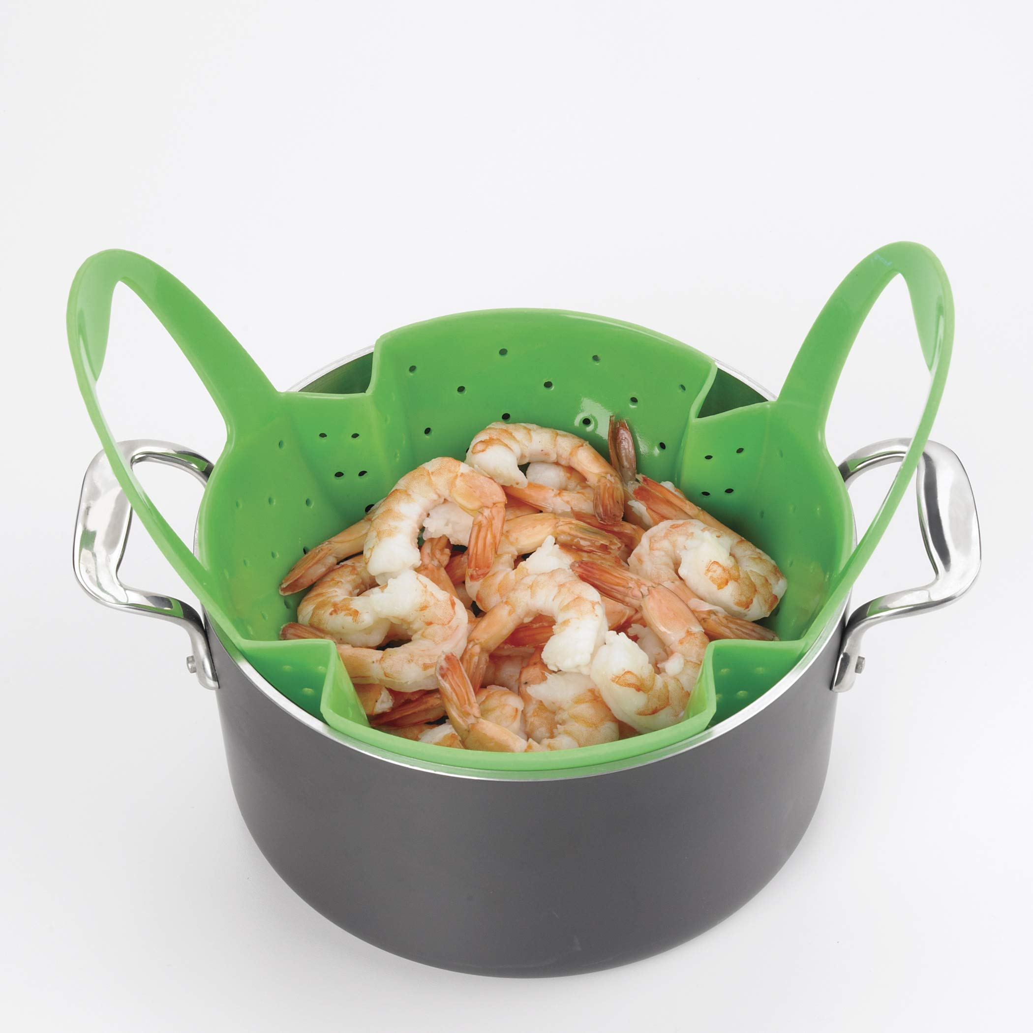 OXO Good Grips Silicone Steamer, Green by OXO (Image #9)