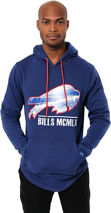 Buffalo Bills fans Football HOODIE men JACKET FULL ZIP up Sweatshirts warm coat