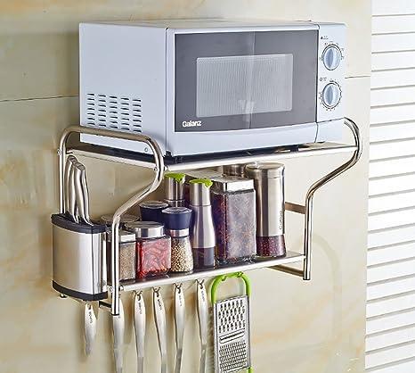 Amazon.com: Estantería de cocina para almacenamiento de ...