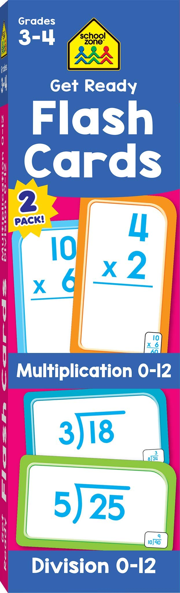 School Zone Multiplication Division Elementary product image