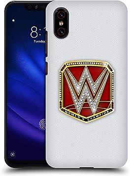 Head Case Designs Oficial WWE Campeona de Raw Mujeres Correas de Title Carcasa rígida Compatible con Xiaomi Mi 8 Pro: Amazon.es: Electrónica