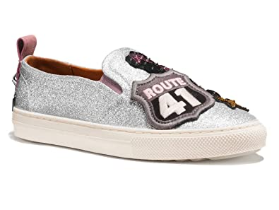 Coach Cherry Patch Slip-On Sneaker (Women) YEagho8